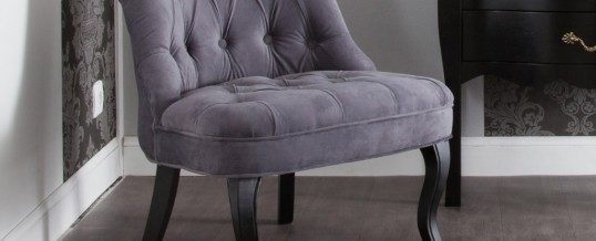 Adopter le fauteuil crapaud gris